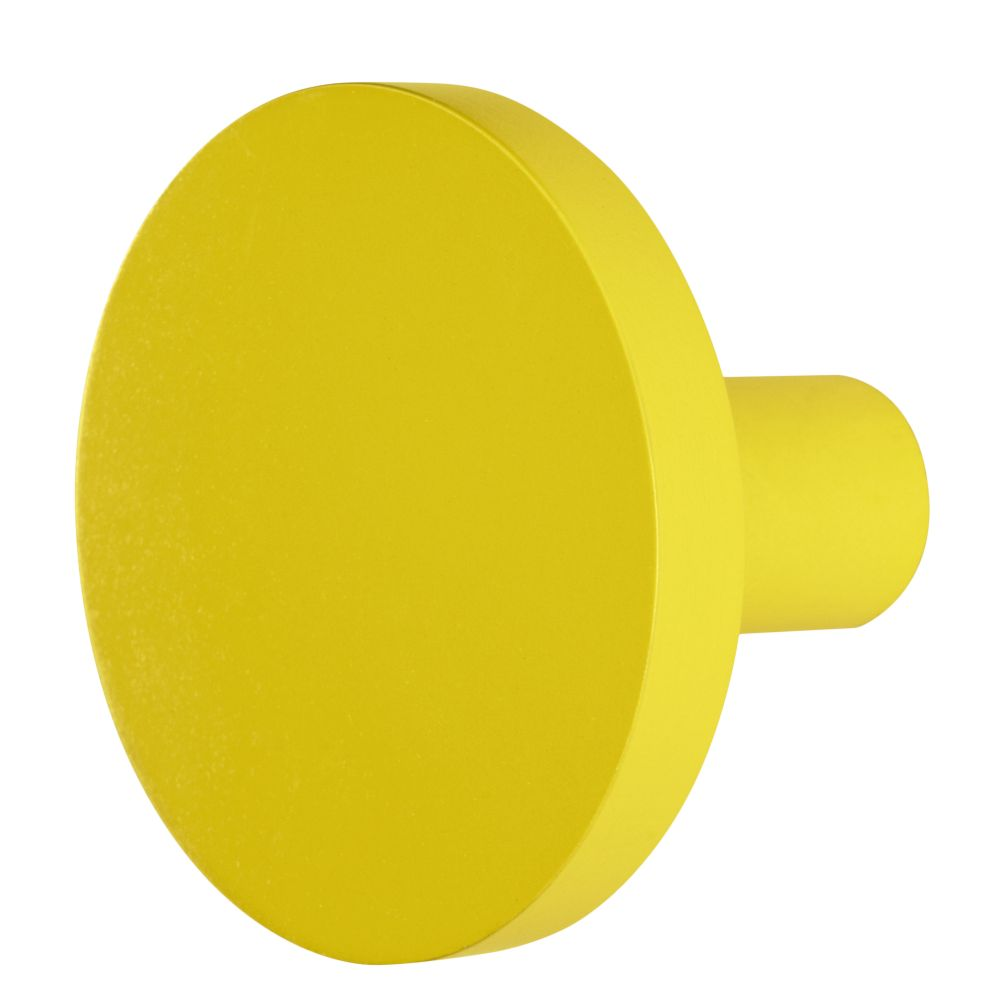 Yellow Can't Miss Wall Knob