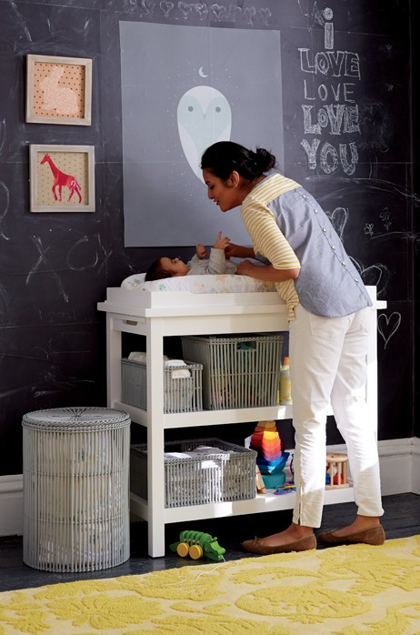 Design A Nursery in Six Steps, Changing Table