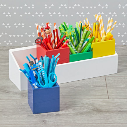 - Multicolor Desk And Wall Caddy