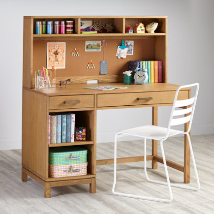 Cargo Kids Desk (Natural) - Natural Cargo Desk