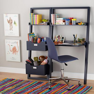 Little Sloane Leaning Desk (Midnight Blue)