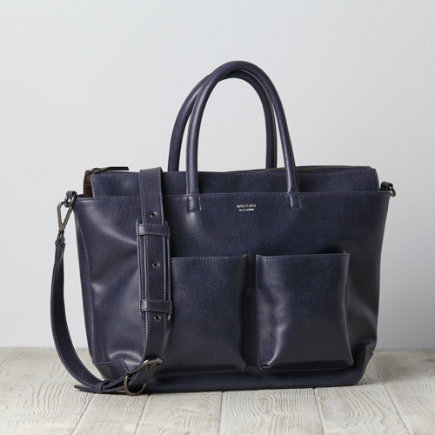 Matt & Nat Diaper Bag (Navy) - Midnight Blue Matt and Nat Diaper Bag