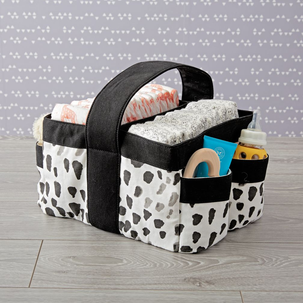 Canvas Portable Diaper Caddy The Land Of Nod