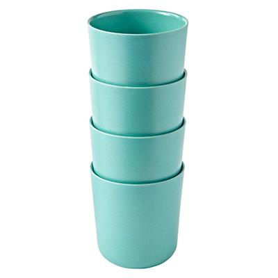 Set of 4 Gusto Cups (Aqua)