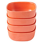 Orange Set of 4 Gusto Small Bowls