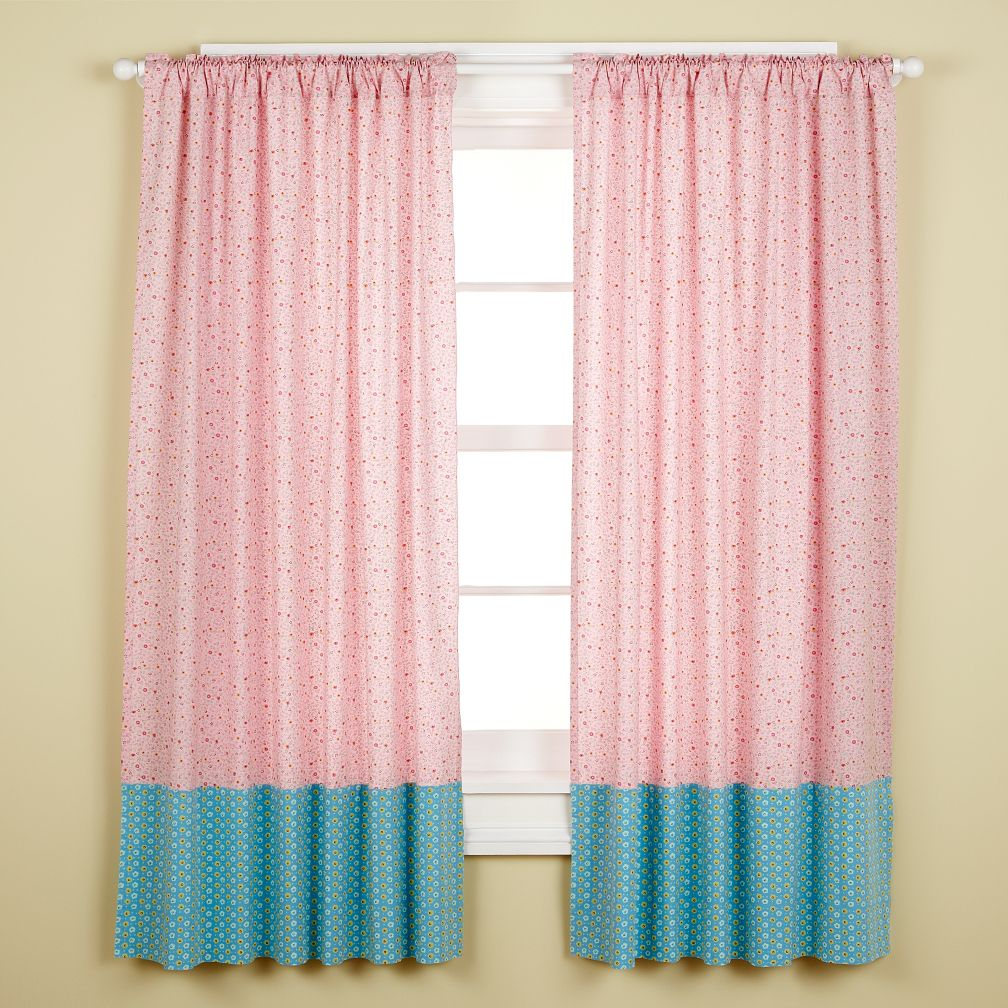 Doll Dresses Curtain Panels