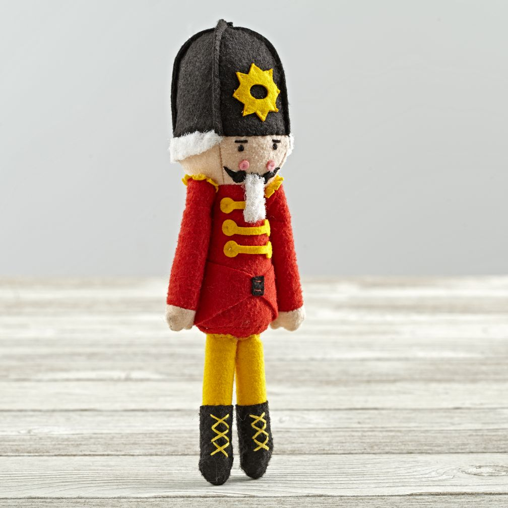 Wee Wonderfuls Nutcracker Doll