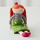 "Orange Hair Neve Knit Crowd 14"" Doll"