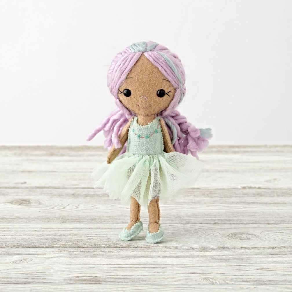 Green Ballerina Belle Doll