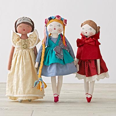 Fairytale Dolls (Set of 3)