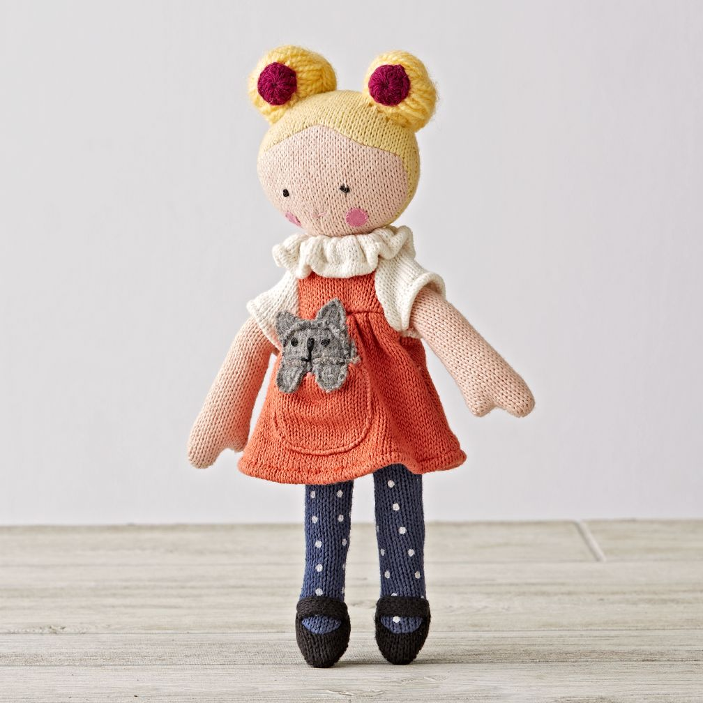 Knit Crowd Toddler Doll Blonde The Land Of Nod
