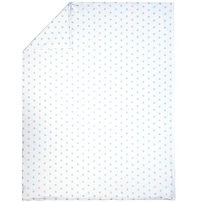 Full-Queen Blue Pastel Dots Duvet Cover