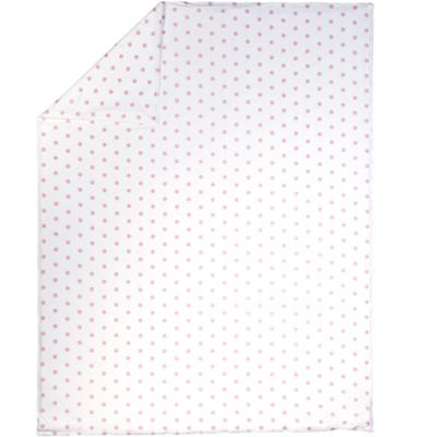 Twin Pink Pastel Dots Duvet Cover