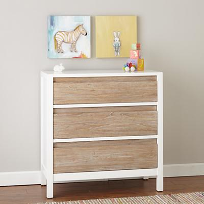 Andersen 3-Drawer Dresser (Whitewash)