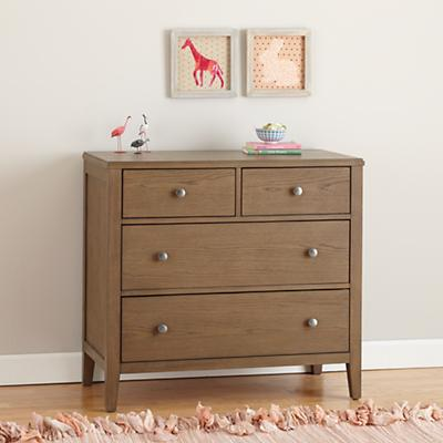 Bayside 2-Over-2 Dresser (Cocoa)