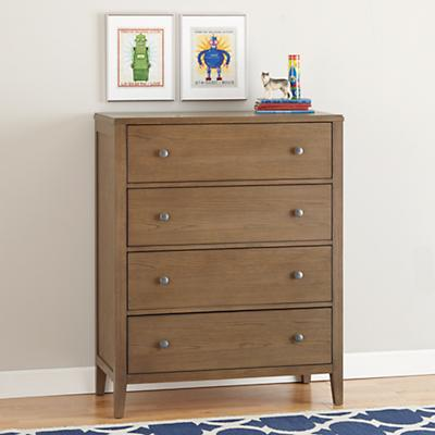 Bayside 4-Drawer Dresser (Cocoa)