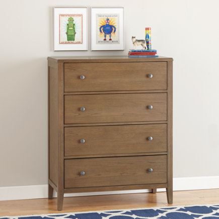 Cocoa 4-Drawer Bayside Dresser