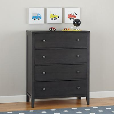 Bayside 4-Drawer Dresser (Denim)