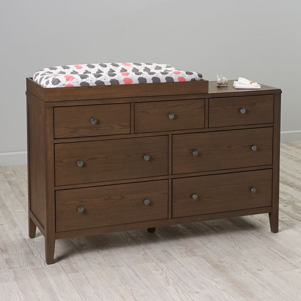 Bayside 7-Drawer Changing Table (Cocoa)