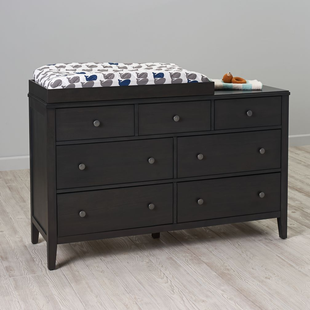 Bayside 7-Drawer Changing Table (Denim)