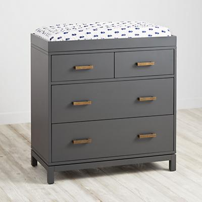 Cargo 2-Over-2 Changing Table (Charcoal)