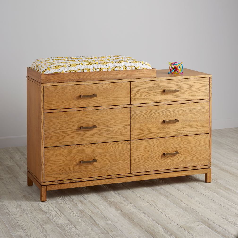 Cargo 6-Drawer Changing Table (Natural)
