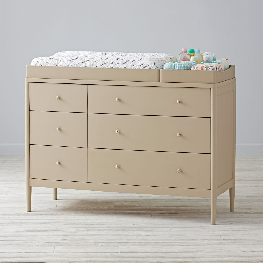 Hampshire 6-Drawer Changing Table (Stone)