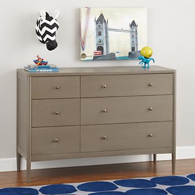Hampshire 6-Drawer Dresser (Clay)