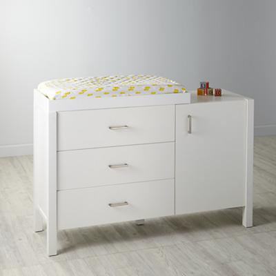 Uptown Wide Changing Table (White)