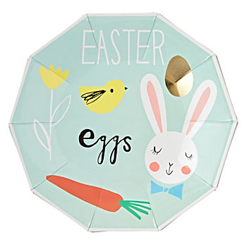 Easter Party Plates (Set of 8)