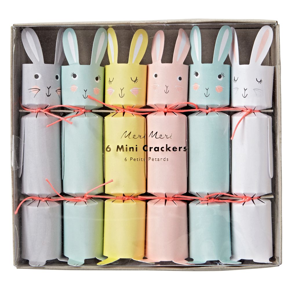 Easter Mini Crackers (Set of 6)