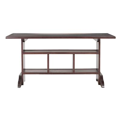 Espresso_Trestle_Table