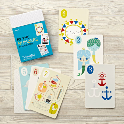 By the Numbers Flash Cards