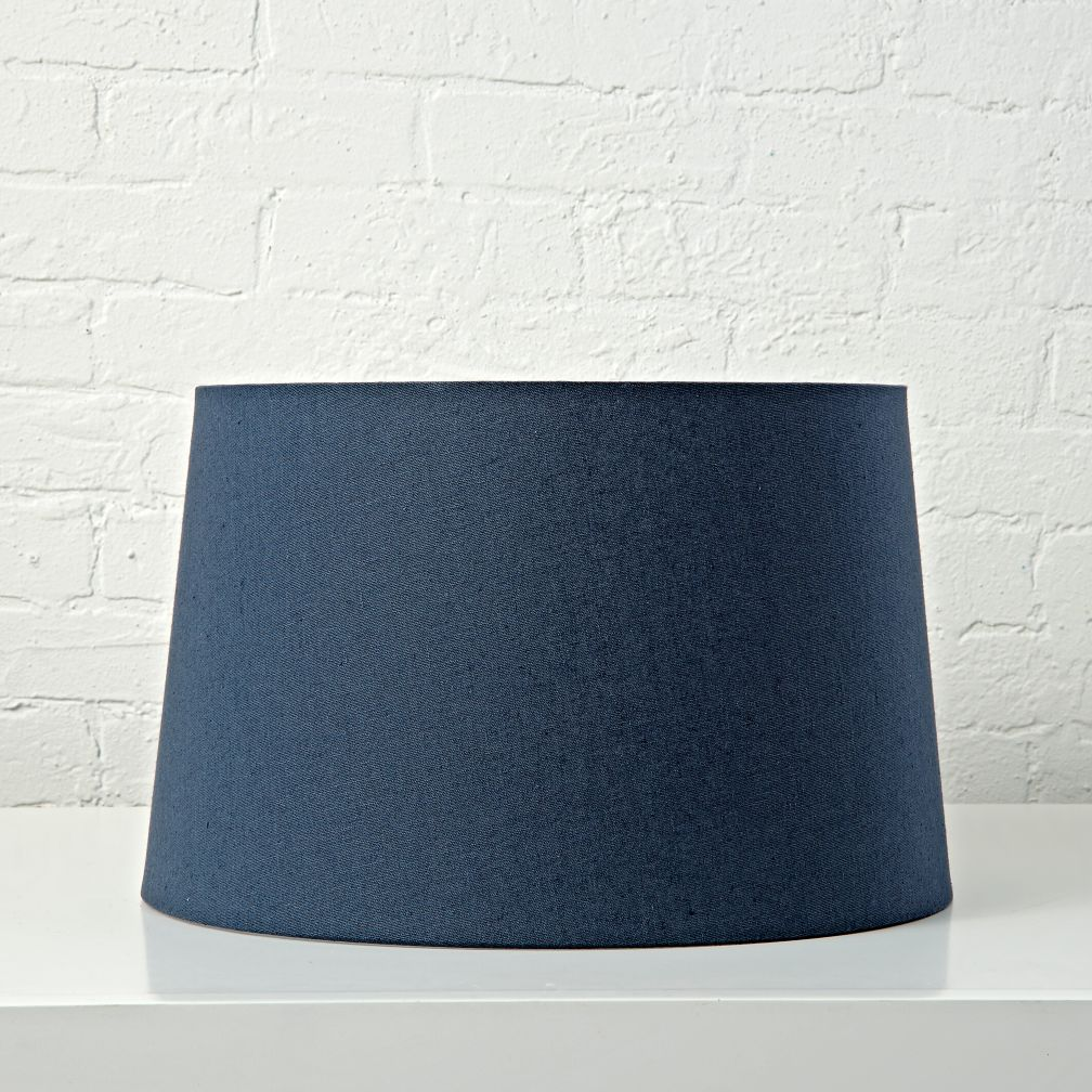 mix and match dark blue floor lamp shade the land of nod. Black Bedroom Furniture Sets. Home Design Ideas