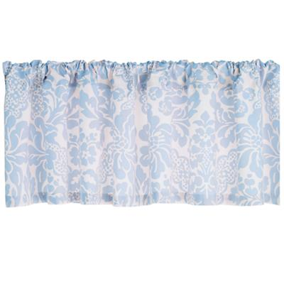 Wallpaper Floral Valance (Blue)