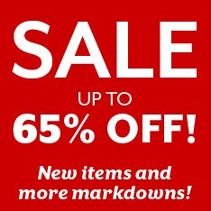 Summer Sale! Up to 65% off. Restrictions apply.