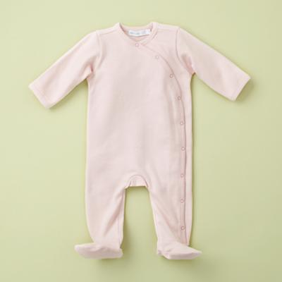 0-3 mos. Footloose Footie (Pink)