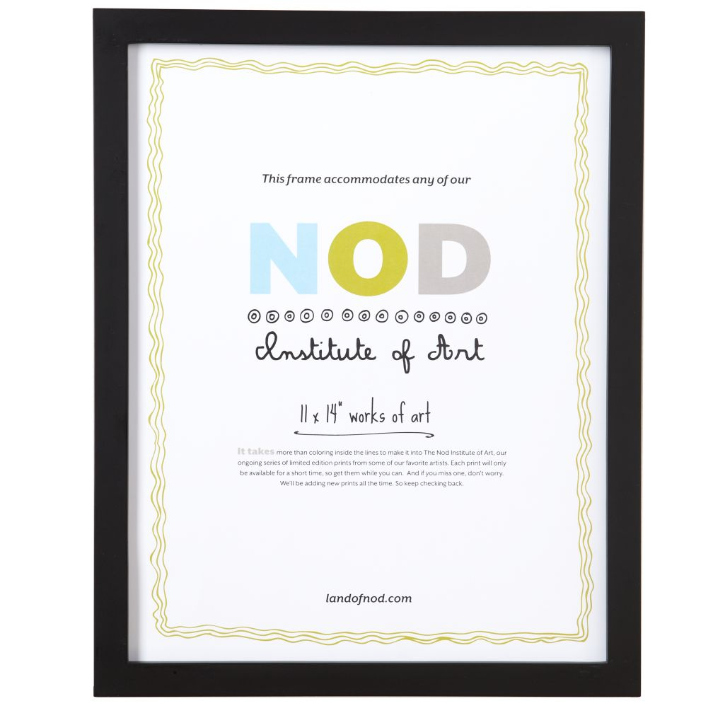 "11 x 14"" Nod Institute of Art Frame (Black)"
