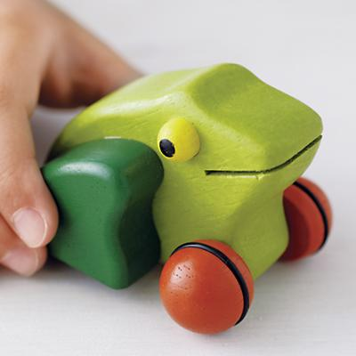 Frog Pull Back Toy