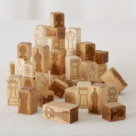 Kids Games: Chunky Chess Pieces - Chunky Chess Pieces