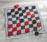 Jumbo Checkers Floor Mat