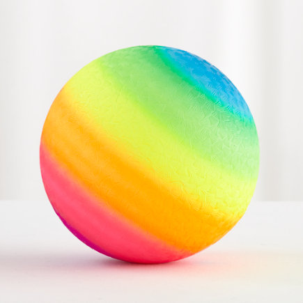 Rainbow Playground Ball - Rainbow Playground Ball