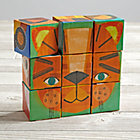 Make a Face Puzzle Blocks