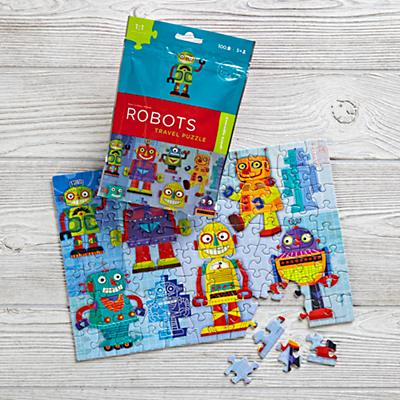 On the Go Travel Puzzle (Robot)