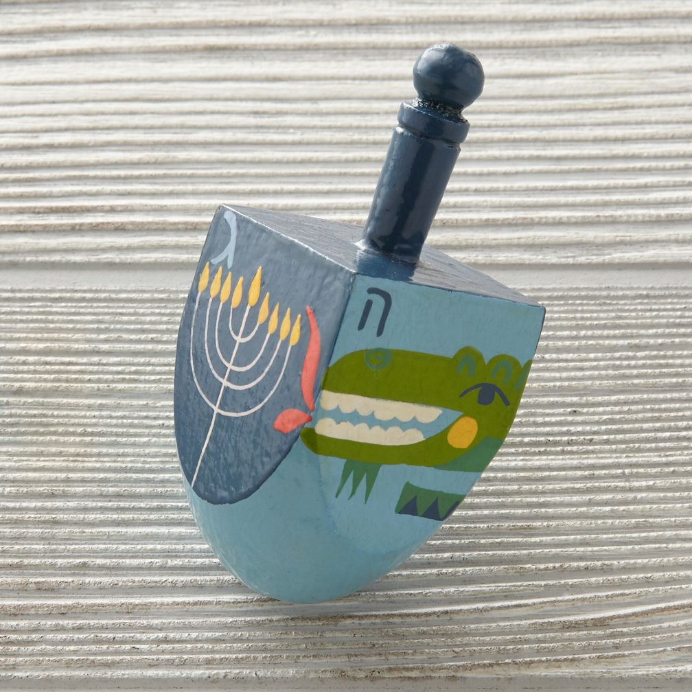 Spin Along Dreidel (Alligator)