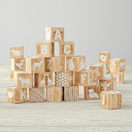 Etched Wooden Blocks - Etched Blocks