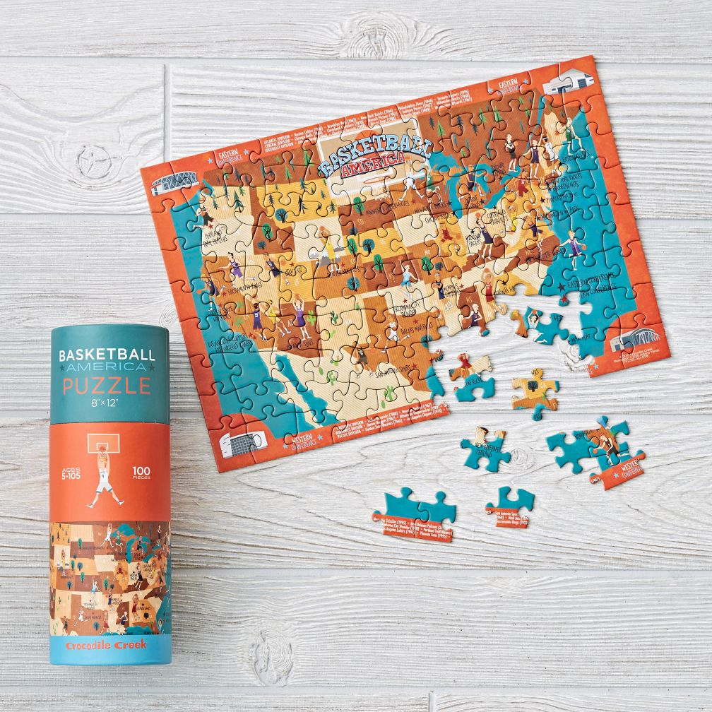Basketball Puzzle 100 Pieces The Land Of Nod