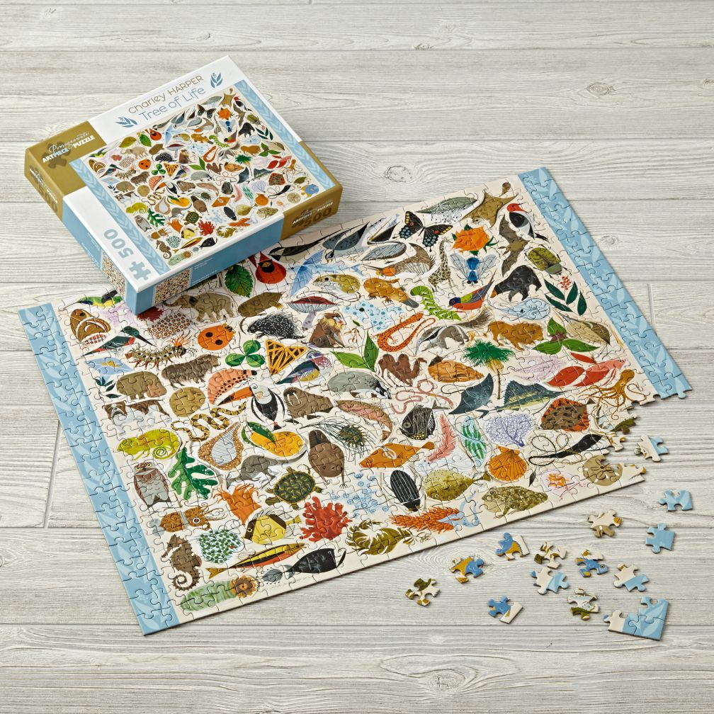 Charley Harper Tree Of Life Kids Puzzle The Land Of Nod