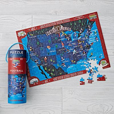 Football Puzzle (200 pc.) and Matching Poster