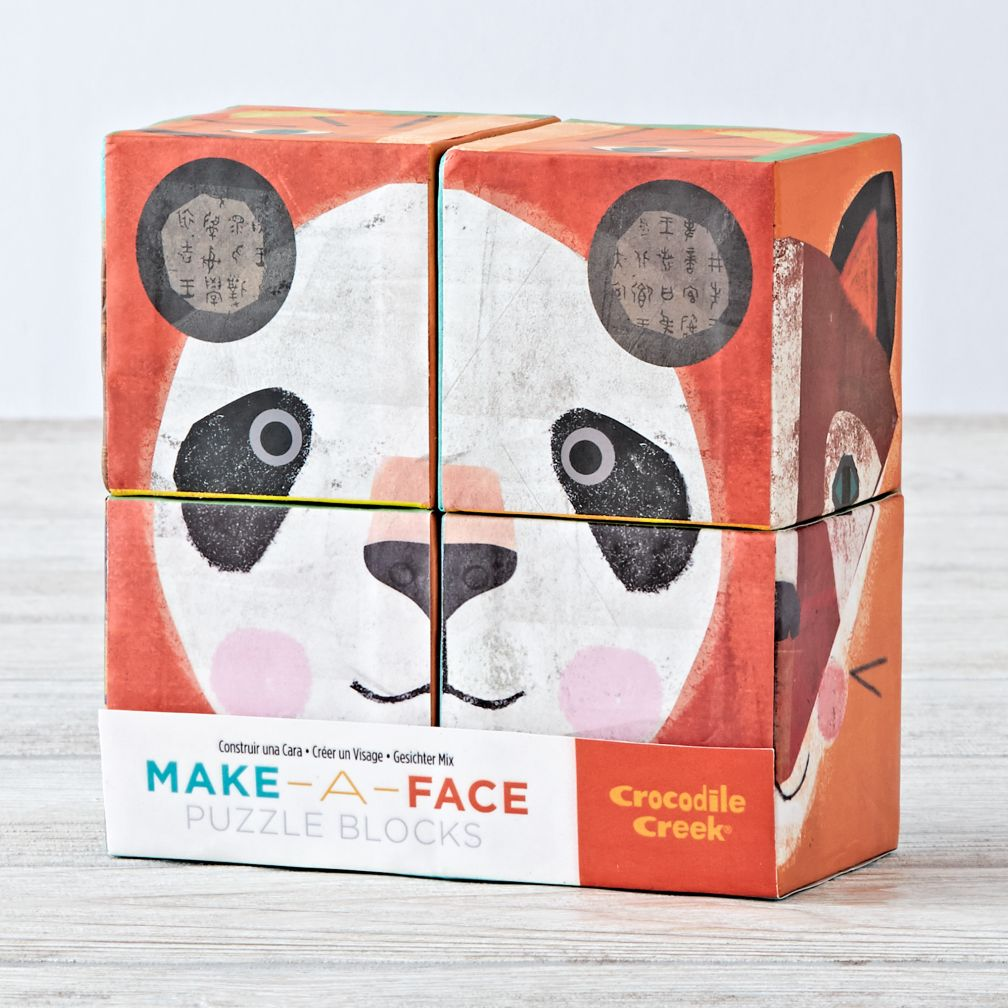 Make a Face Puzzle Blocks (Small)